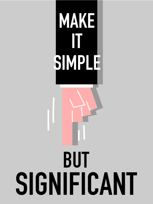 Make it simple but significant Cambridge communications agency