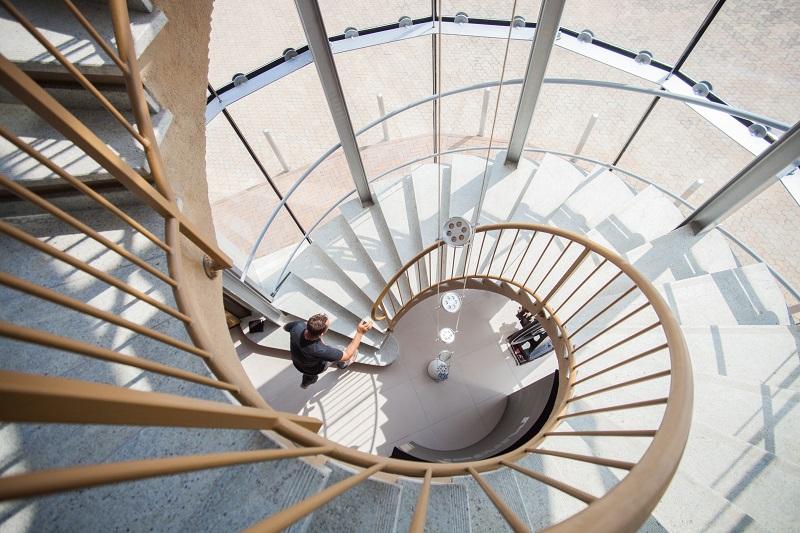 Staircase at a Cambridge PR agency