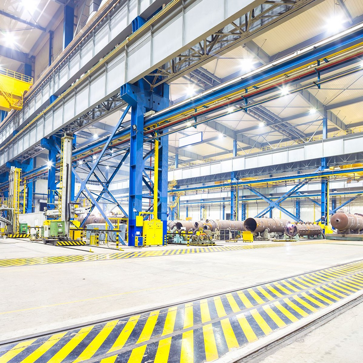 Inside a manufacturing factory to show B2B PR